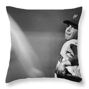 Tom Seaver (1944- ) Throw Pillow by Granger
