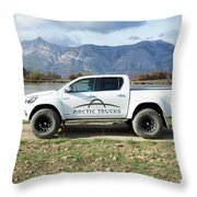 Toyota Hilux At37 Throw Pillow