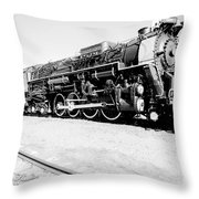 Train Engine #2732 Throw Pillow