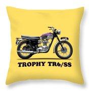 Triumph Trophy Throw Pillow
