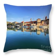 Trogir Throw Pillow