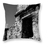 Tulum Mexico Throw Pillow