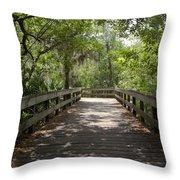 Turkey Creek Throw Pillow