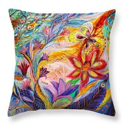 Under The Wind Throw Pillow