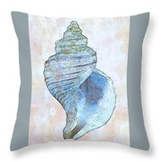 Underwater. Sea Shells Throw Pillow
