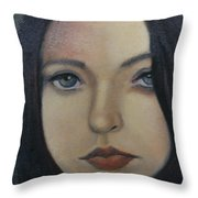 That Stare Throw Pillow