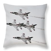 Usaf Thunderbirds Throw Pillow