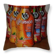 V8 Fusion Throw Pillow