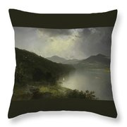 View On The Hudson Throw Pillow