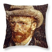 Vincent Van Gogh Throw Pillow