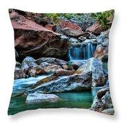 Virgin River Zion  Throw Pillow