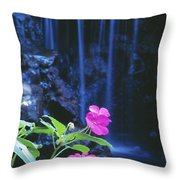 Waimea Falls Park Throw Pillow