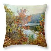 Wampus Pond Throw Pillow