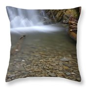 Waterfall, Quebec Throw Pillow