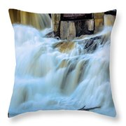 Waterfall Series Throw Pillow