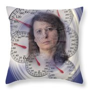Weight Obsession Throw Pillow