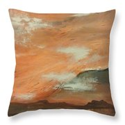 Western Sky Throw Pillow