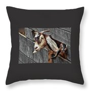 What's Going On? Throw Pillow