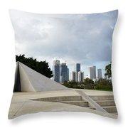 White City Statue, Tel Aviv, Israel Throw Pillow