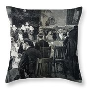 White House: State Dinner Throw Pillow