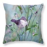 Wild Bird In A Natural Habitat Throw Pillow
