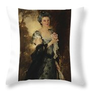 William Crowninshield Endicott Throw Pillow