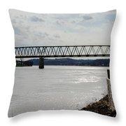 Williamstown Bridge  Throw Pillow