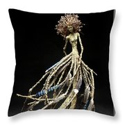 Wings In The Weald Throw Pillow