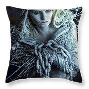 Winter's Sorrow Throw Pillow