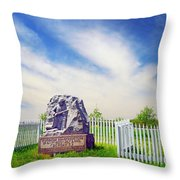 Wisconsin Sharpshooters Throw Pillow