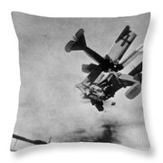 World War I: Aerial Combat Throw Pillow