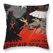 World War I: Air Service Throw Pillow by Granger