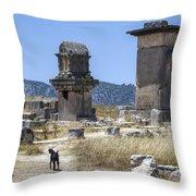 Xanthos - Turkey Throw Pillow