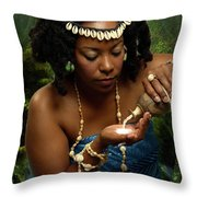 Yemaya Throw Pillow
