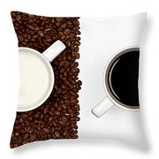 Yin And Yang Throw Pillow by Gert Lavsen