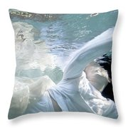 You Are The Ocean And I Am Drowning Throw Pillow