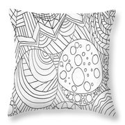 Zendoodle Design Throw Pillow