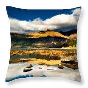 Art Landscape Throw Pillow