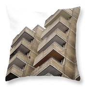 Balconies Throw Pillow