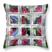 20 Deco Windows Throw Pillow