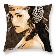 Episode 2 Star Wars Art Throw Pillow
