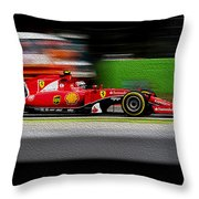 Ferrari Formula 1 Monza Throw Pillow