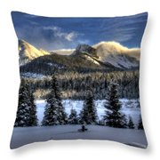 Landscape Art Throw Pillow