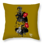 Muhammad Ali Collection Throw Pillow
