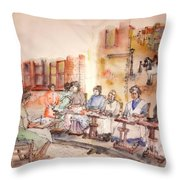 Of Clogs And Windmills Album Throw Pillow