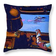Star Wars Episode 3 Art Throw Pillow