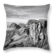 The Quiraing Throw Pillow
