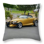 2002 Chrysler Prowler Randall Throw Pillow