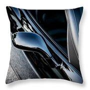 2002 Corvette Ls1 Painted  Throw Pillow