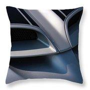 2002 Pontiac Trans Am Hood Vents Throw Pillow